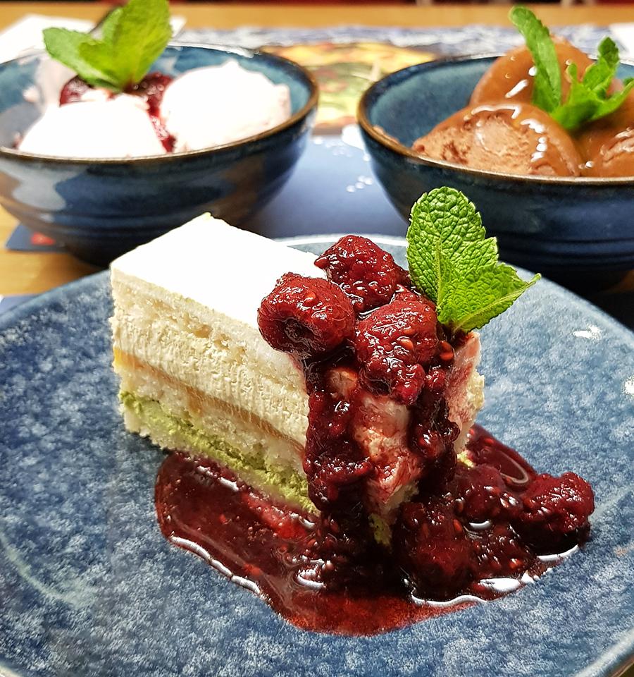 mango-matcha-layer-cake